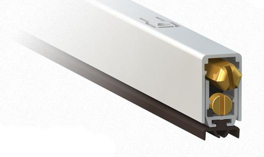 Burlete para puertas comaglio 1700 mini pressure series - Burlete para puertas ...