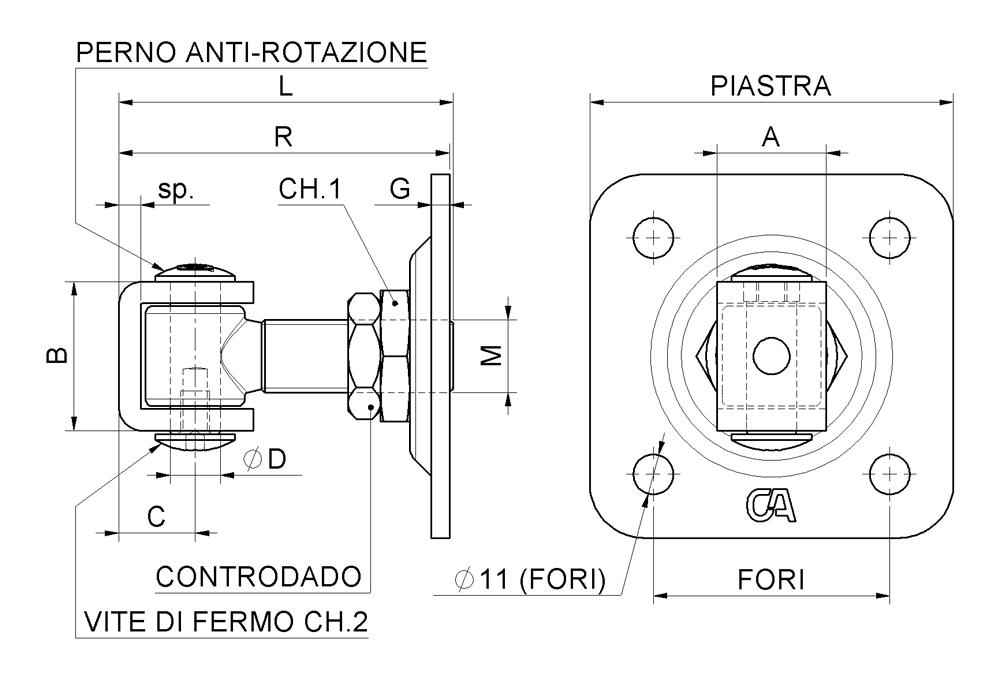 Venta Online Cardini y accesorios Puertas Flying Combiarialdo | Windowo
