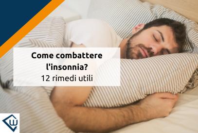Cómo combatir el insomnio: 12 remedios útiles