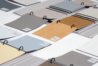 Guía de tejidos para cortinas enrollables Pronema