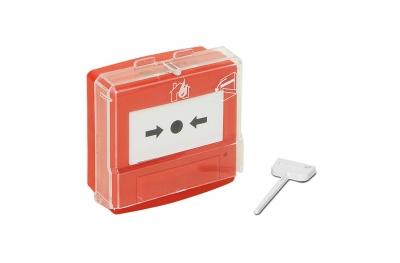 05110R Teca para alarmas sonoras de fuego central EN54 monozona