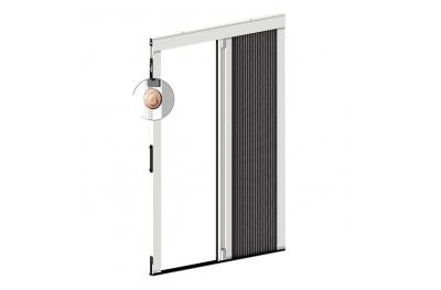 Mosquitera Plisada Lateral Espesor 18 mm 1 Puerta Plisada Zanzar Sistem
