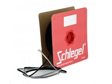 junta de cepillo Schlegel Polybond 6,9x7mm Sin Fin Negro rollo 225m