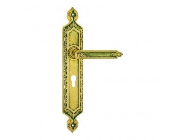 1010/1030 Clase Puerta amatista manija en la placa Frosio Bartolo hecha en Italia de la arquitectura islámica