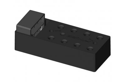 Elemento de montaje bisagras con fuelle para Coats 80mm ESINPLAST