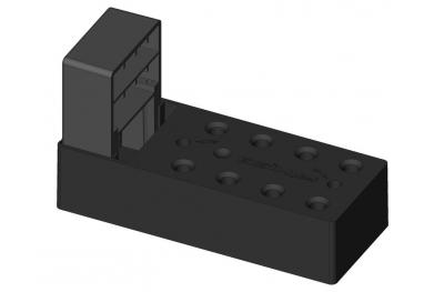 Elemento de montaje bisagras con fuelle para Coats hasta 140mm ESINPLAST