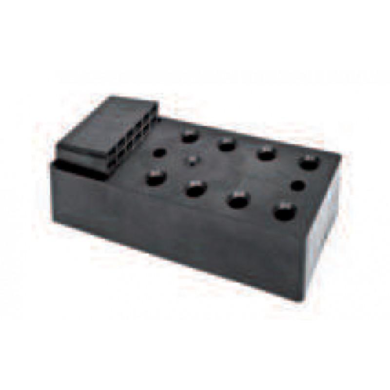 Elemento de montaje bisagras con resina para Coats 80mm ESINPLAST
