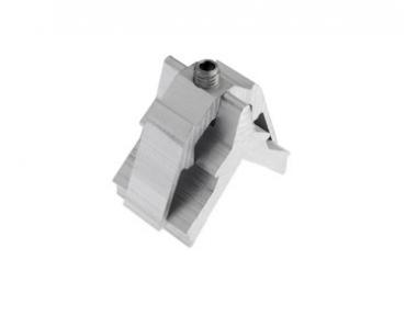 Tornillo soporte en aluminio Alutec 15x25mm
