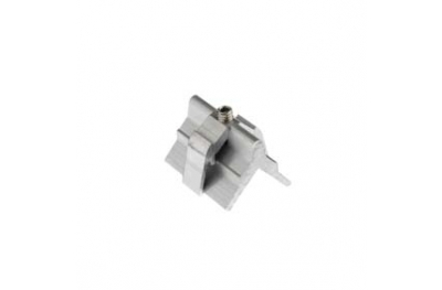 Tornillo soporte en aluminio Alutec 10x45mm