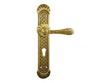 1150/1050 de la manija de la puerta Clase Agata en la placa Frosio Bartolo elegante de Teatro Clásico