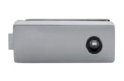 Bloqueo de cristal sin llave agujero Tropex 165x65mm