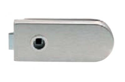 Bloqueo de cristal sin llave agujero apretado 160x65mm Tropex