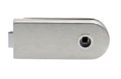 Bloqueo de cristal sin llave agujero Tropex 160x65mm
