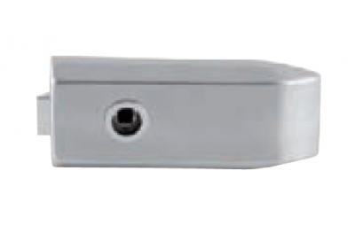 Bloqueo de cristal sin llave agujero apretado 175x75mm Tropex