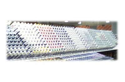 Expositor Stilo Retoque de aluminio Soporte de plástico con EP Vit