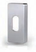Boquilla Cilindro rectangular patente de acero inoxidable Tropex