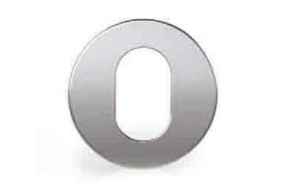 Cilindro Boquilla oval redondo de acero inoxidable Tropex