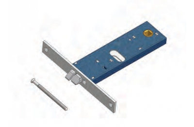 Omec pestillo de la cerradura eléctrica en el rango de aluminio