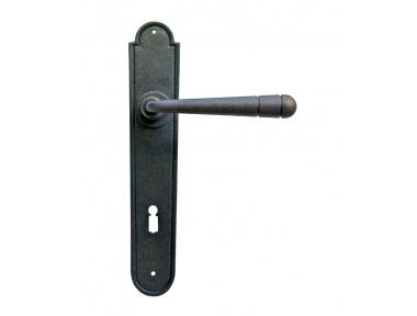 12 mango Galbraith en la puerta de la placa de hierro forjado Arte