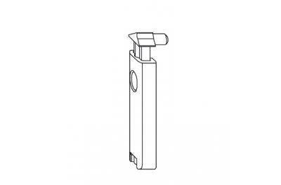 Latch Retención de pestillo Balcón Comfort accesorios Siegenia Titan
