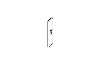 Espesor de Save Falsa Maniobra accesorios Cremonese Siegenia Titan
