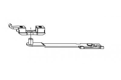 Puerta brazo limitador de apertura Siegenia Titan Accesorio para PVC
