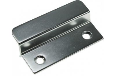 Pequeño mango de aluminio de plata para las puertas francesas al aire libre HEICKO Segatori