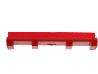 Vidrio grueso de 3 mm de la unión de cristal rojo HEICKO Segatori