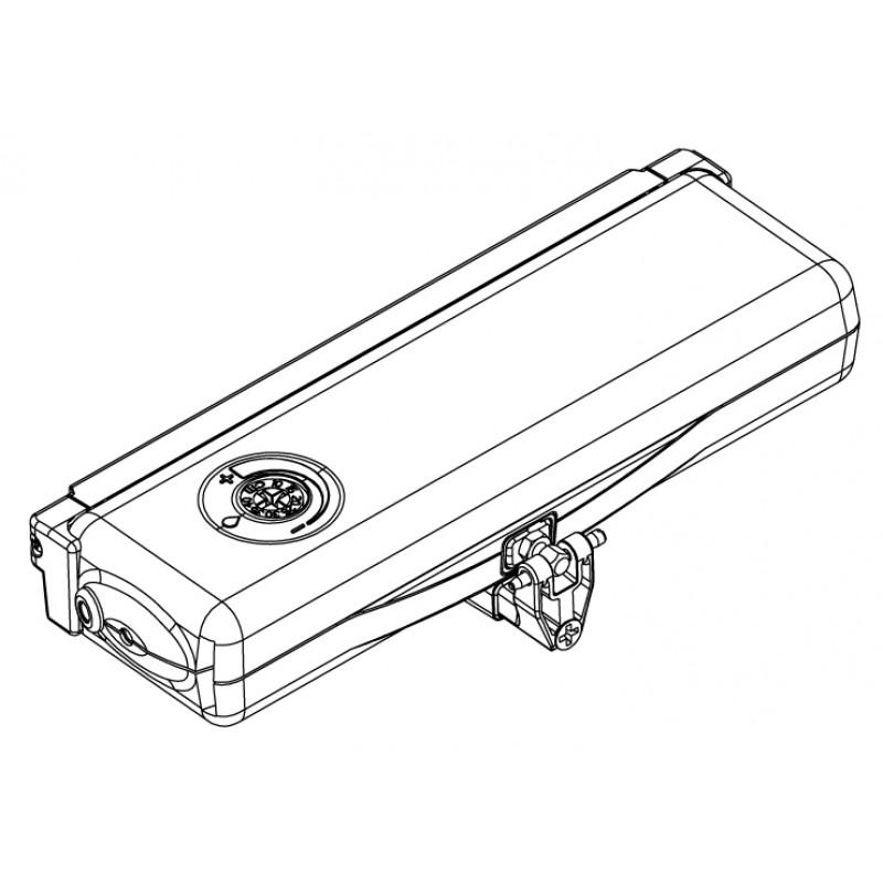Actuador Cadena ACK4 230V 50Hz Topp 1 punto impulso Gris Negro o Blanco