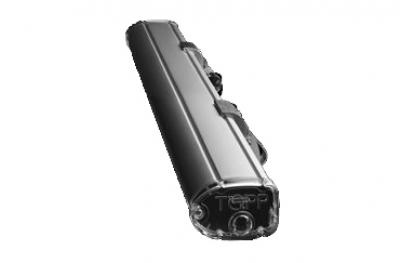 Actuador Cadena C130 230V 50Hz Topp 1 punto para impulsar la carrera de 36cm con bisagras