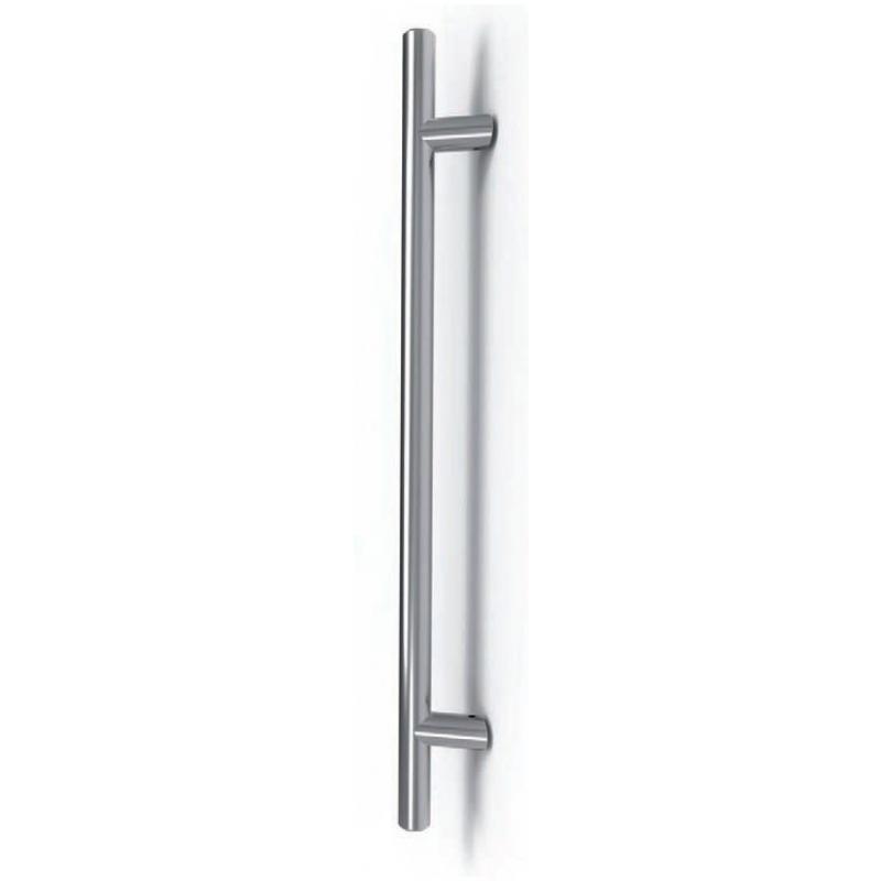 Manija de acero Frankfurt Tropex; Soportes magras; Distancia entre ejes 300 mm - Ø 30 mm