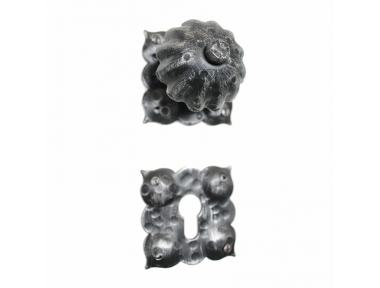 2009 Pomo de hierro forjado Puertas Artisan para Rosetta Lorenz Ferart