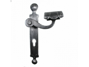 2036 tacto redondo forjado puertas de hierro para la placa de Lorenz Ferart