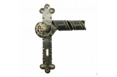 2046 Curl forjado puertas de hierro para la placa de Lorenz Ferart