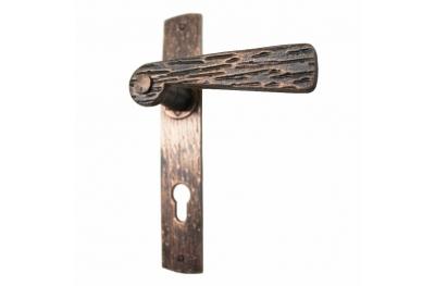 2058 Mango falso hierro forjado Puertas placa de la Madera de Lorenz Ferart