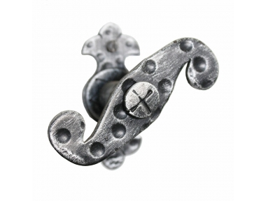 2135 Manija con el martillo de voluta de hierro forjado Ventana Lorenz Ferart