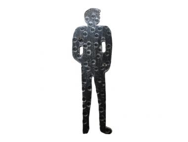 2206 señal de forma Hierro forjado Hombre de baño aseo masculino Lorenz Ferart