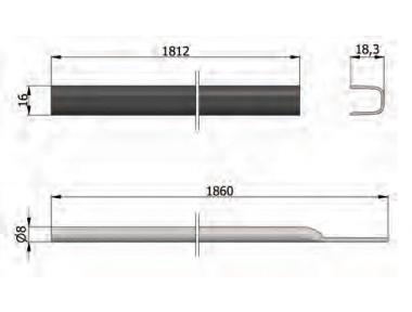 Kits de extensión para los desviadores Omec accesorio maneja Pánico