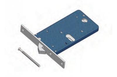 Gancho de bloqueo Omec Mecánica Banda de aluminio
