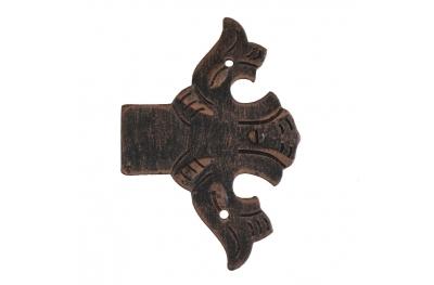3009 Fine Bisagra decorativa para puertas muebles hierro forjado Lorenz Ferart