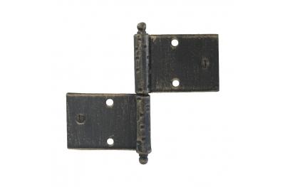3059 bisagra doble para puertas y muebles de hierro forjado Lorenz Ferart