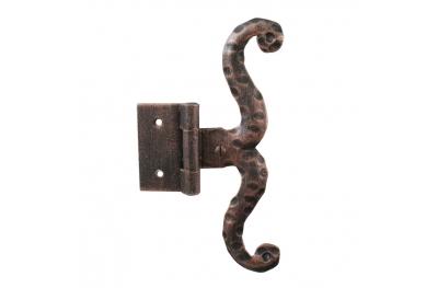 3060 bisagra simple para puertas y muebles de hierro forjado Lorenz Ferart