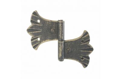 3062 bisagra doble para puertas y muebles de hierro forjado Lorenz Ferart