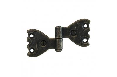 3063 bisagra doble para puertas y muebles de hierro forjado Lorenz Ferart