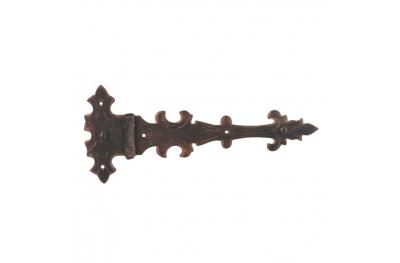 3070 bisagra doble para puertas y muebles de hierro forjado Lorenz Ferart