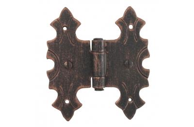 3071 bisagra doble para puertas y muebles de hierro forjado Lorenz Ferart