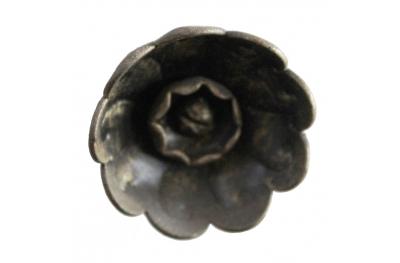 3218 Pomo flor del rosetón muebles de hierro forjado para Lorenz Ferart