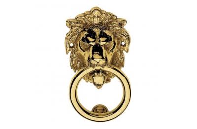 351 BA Leone Battente para Porta Linea Calì en forma de león Hecho en Italia