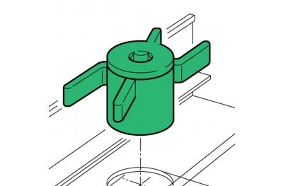 Spacer Proni Rápido-Block Series Ventana 45 Instalación