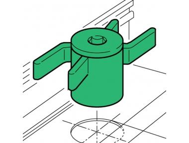 Spacer Proni Rápido-Block Series Ventana 50 Instalación